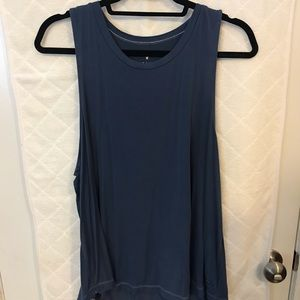 American Eagle soft and sexy blue tank
